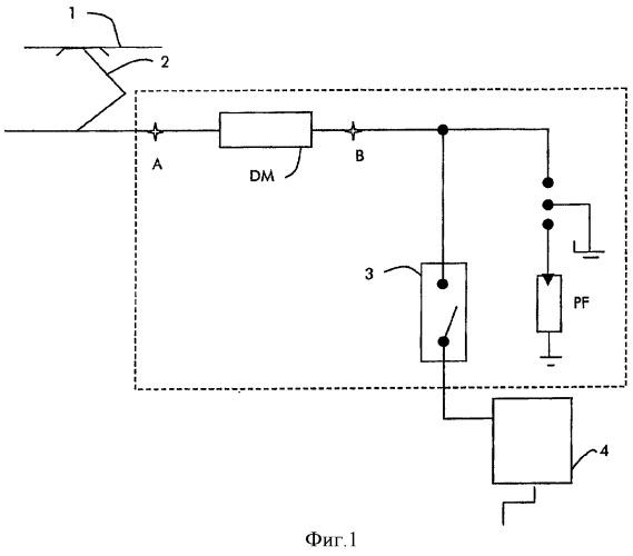 Электрическое оборудование, установленное на крыше железнодорожного транспортного средства на электрической тяге
