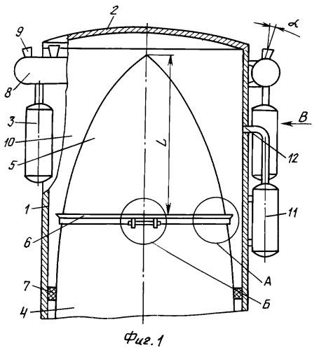 Устройство для эвакуации цилиндрического модуля с подводной станции на поверхность воды