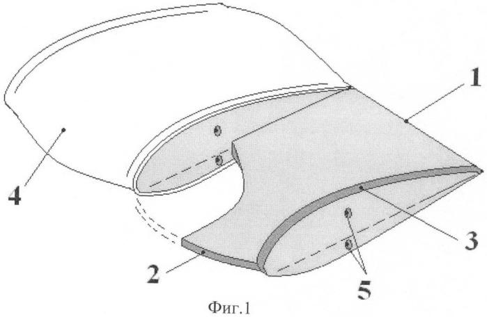 Способ управления аэродинамическими характеристиками несущей поверхности и несущая поверхность