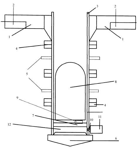 Способ запуска сверхтяжелых космических ракет и устройство для его осуществления