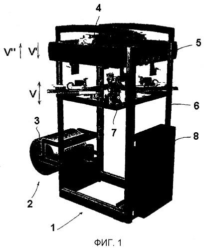 Упаковочное устройство, стопорный механизм для упаковочного устройства и способ его эксплуатации