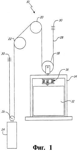 Лифтовая система и демпфер вибраций