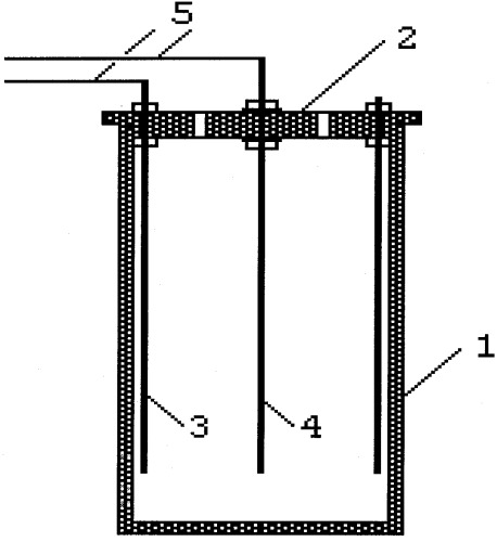Электрохимический способ получения гидроксида алюминия