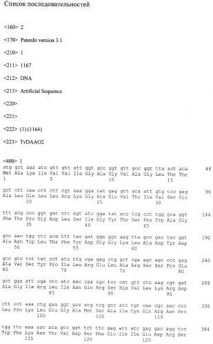 Мутантная оксидаза d-аминокислот