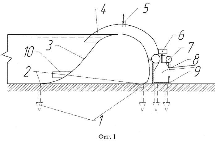 Мобильное гидроэнергетическое сооружение с водоподпорной наполняемой оболочкой