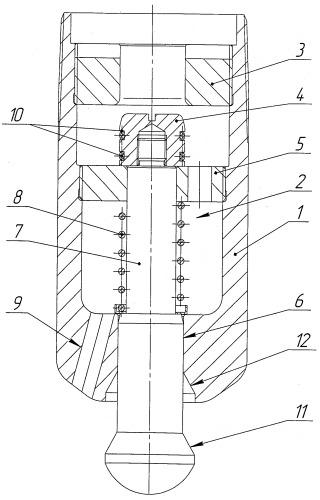 Башмак-клапан для хвостовика