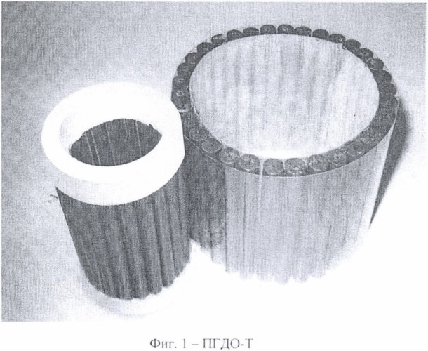 Пороховой генератор давления облицовочный пгдо