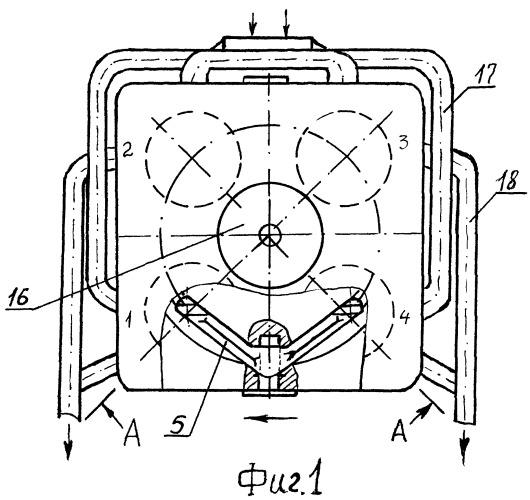 Двигатель внутреннего сгорания в.е.с.а