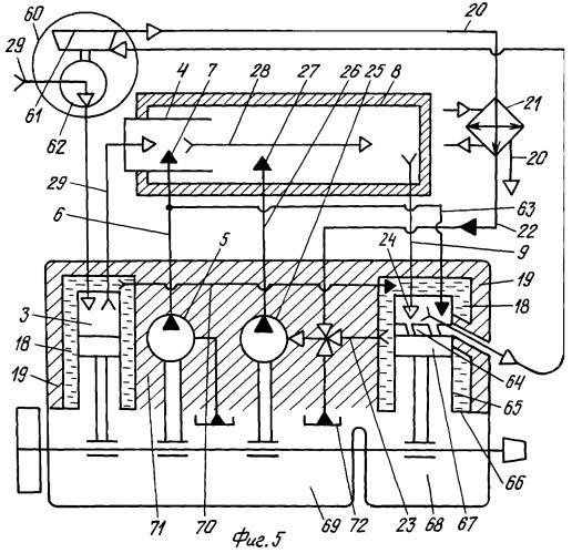 Поршневой двигатель казанцева