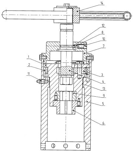 Привод двухскоростной ручной для запорно-регулирующей арматуры