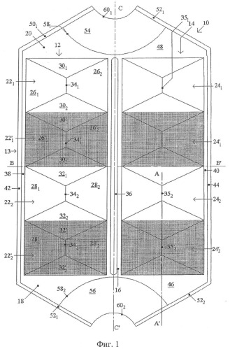 Теплообменник из полых плоских секций