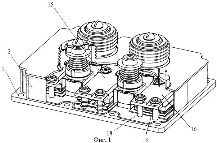 Способ сборки многокристального полупроводникового прибора с прижимным контактом