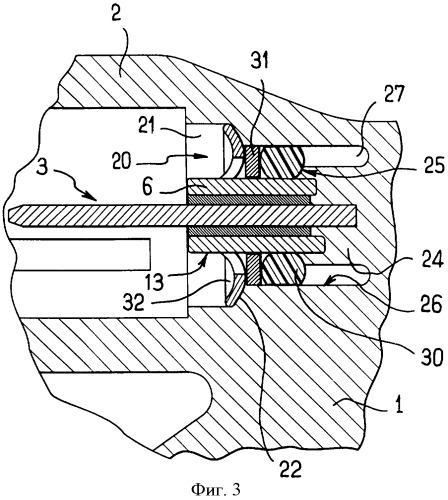 Устройство с корпусом, содержащим герметично соединенный с ним контактный штырек