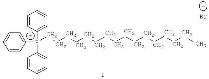 Антигельминтная композиция на основе соли четвертичного фосфония и замещенного динитробензофуроксана