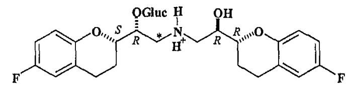 Глюкуронидированные метаболиты небиволола