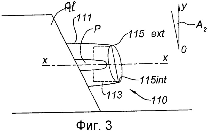 Воздухозаборник двухконтурного турбореактивного двигателя