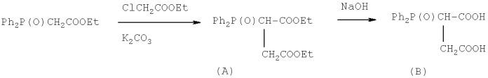 Способ получения солей фосфорилзамещенных 1,4-дикарбоновых кислот