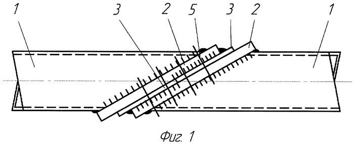 Фланцевое соединение растянутых элементов замкнутого профиля