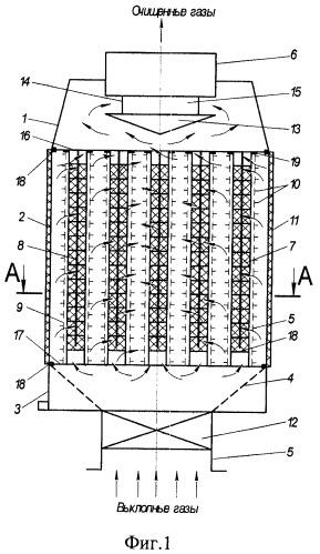 Каталитический нейтрализатор отработанных газов двигателя внутреннего сгорания