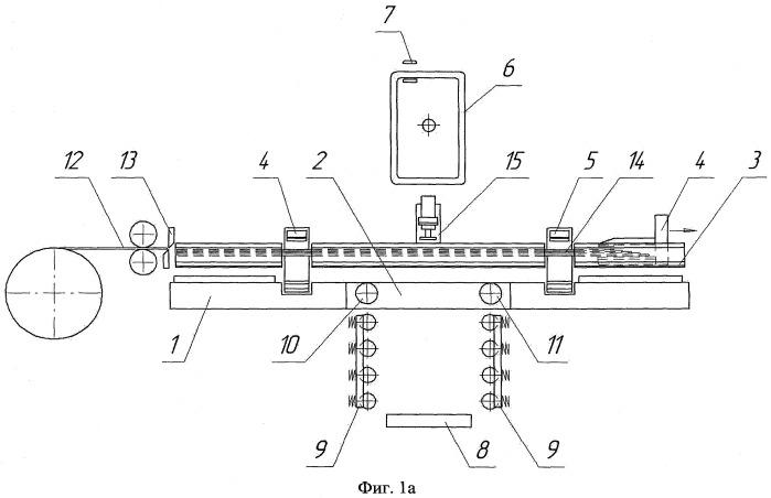Линия для сборки ленточного магнитопровода распределительного трансформатора