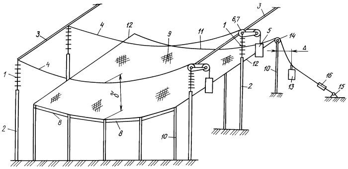 Устройство для электрофизического воздействия на атмосферу