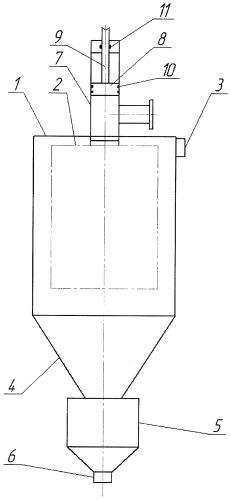 Циклон с фильтрующим элементом