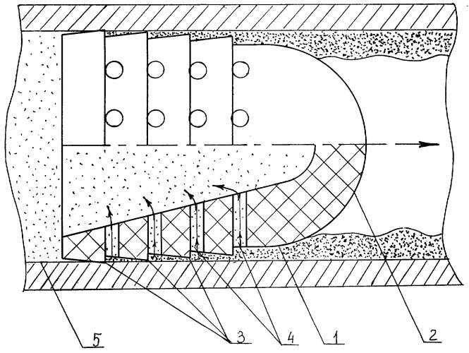 Поршень для очистки внутренней поверхности трубопровода