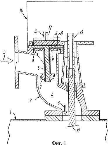 Приводное устройство для расположенной в баке чистящей головки