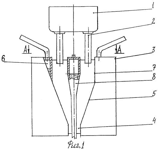 Способ получения непрерывнолитых деформированных полых стальных заготовок