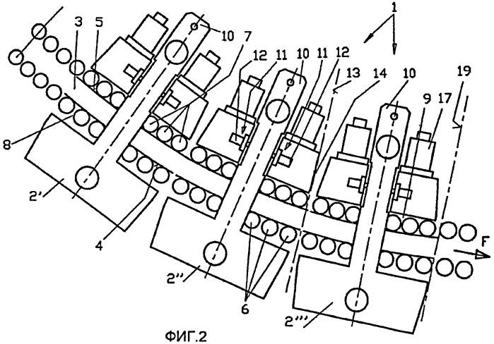 Направляющая проводка, в частности, для установки непрерывной разливки стальных слябов