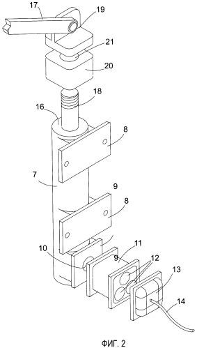 Силовой привод для активного капота двигателя автомобиля