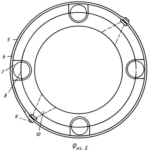 Ракетные межступенчатые шаровые замки-фиксаторы