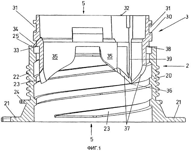 Запираемое открывающее устройство с полуфабрикатом и способ его монтажа