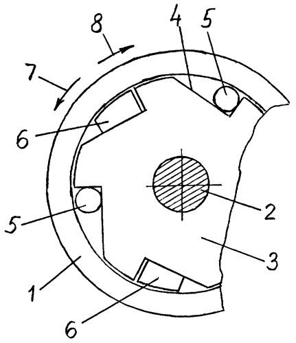 Комбинированный роликовый останов