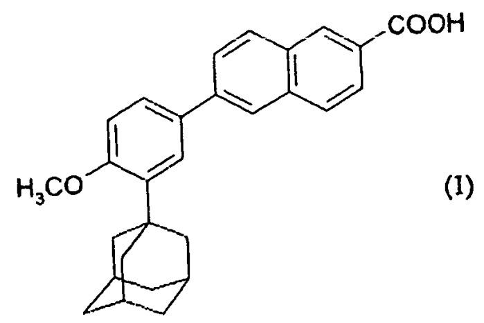Новый способ получения 6-[3-(1-адамантил)-4-метоксифенил]-2-нафтойной кислоты