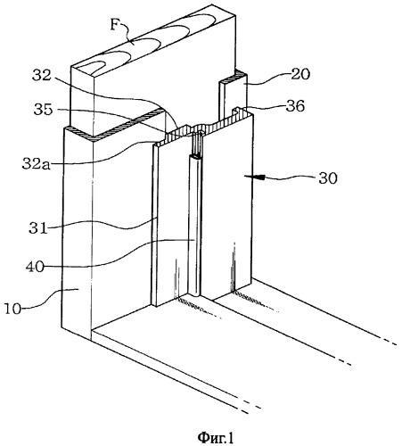 Конструкция дверной рамы и способ ее монтажа