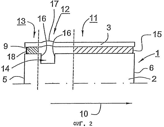 Сотовый элемент с по меньшей мере частично керамической структурой и с отверстием под датчик и способ изготовления такого сотового элемента