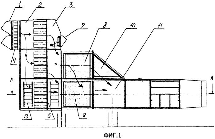 Комплексное воздухоочистительное устройство