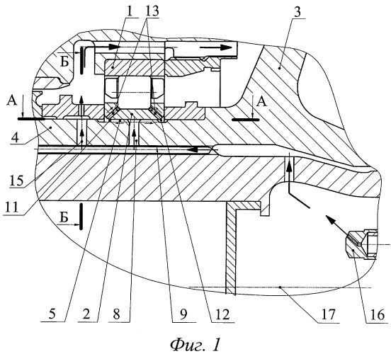 Опора ротора газотурбинного двигателя