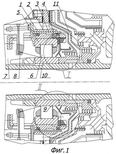 Упругодемпферная опора газотурбинного двигателя