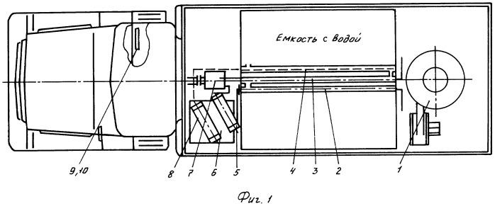 Передвижная парообразующая установка