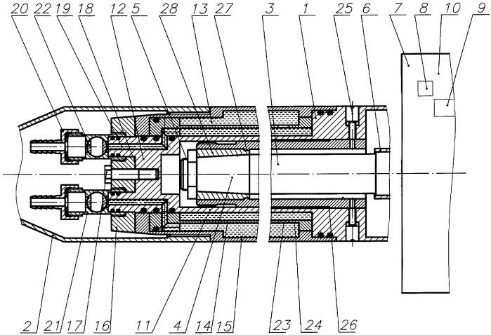 Устройство для определения аэродинамических характеристик модели в сверхзвуковой аэродинамической трубе