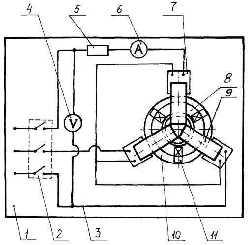 Устройство для индукционного нагрева деталей при нанесении металлокерамического слоя спеканием