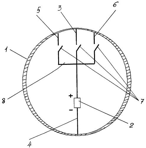 Устройство экранирования внешнего электромагнитного поля