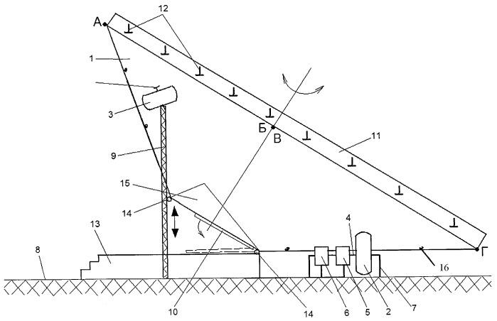 Способ регулирования подъемной силы в тренажерах инерционного типа