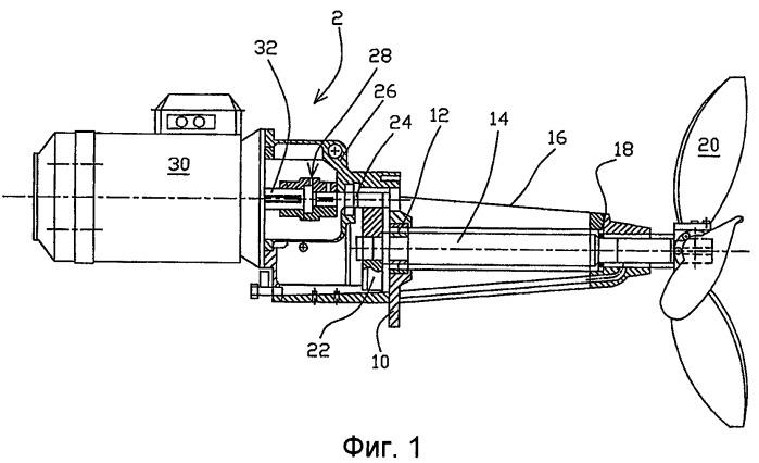 Электродвигатель с постоянным магнитом в качестве приводного механизма мешалки