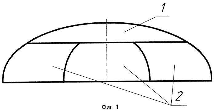 Способ изготовления листовой конструкции с двоякой кривизной поверхности