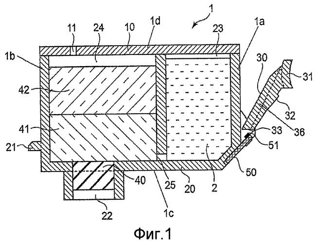 Контейнер для чернил (варианты) и система для струйной печати (варианты)