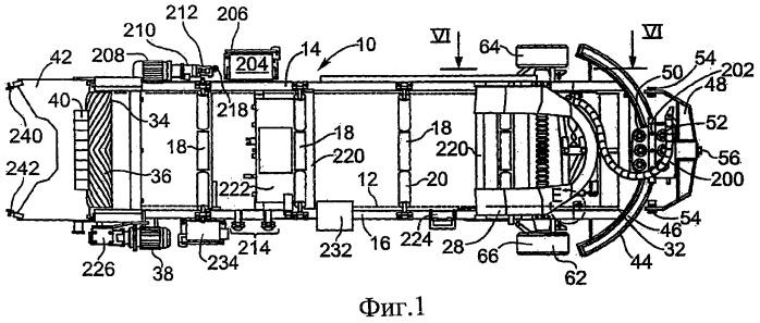 Ленточное конвейерное устройство с регулируемым ведомым шкивом