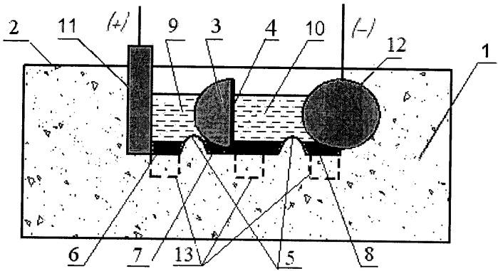 Биполярный электролизер для рафинирования чернового свинца